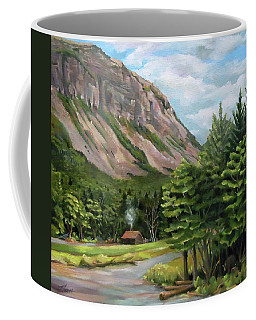 Cannon Cliff New Hampshire Coffee Mug