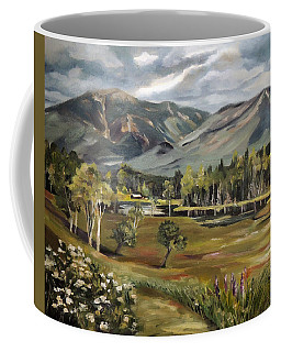 Cannon Mountain From Sugar Hill New Hampshire Coffee Mug