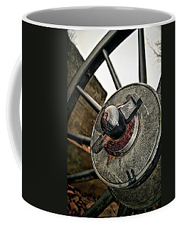Cannon Wheel Coffee Mug