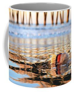 Cannonball Jellyfish Beached Coffee Mug