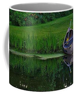 Canoe Reflection Coffee Mug