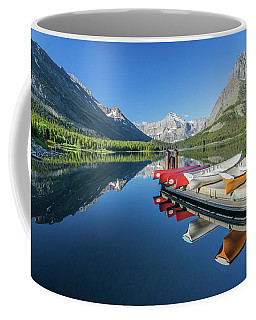 Canoe Reflections Coffee Mug