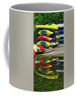 Canoes - Lake Wingra - Madison - Wisconsin Coffee Mug