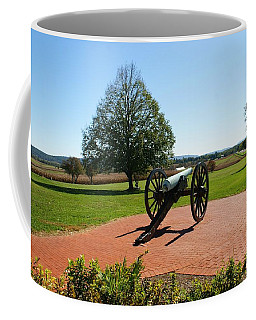 Canon At Antietam Coffee Mug