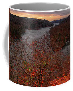 Canopus Lake From Above Coffee Mug by Raymond Salani III