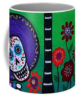 Coffee Mug featuring the painting Serenata Especial Para Axl by Pristine Cartera Turkus