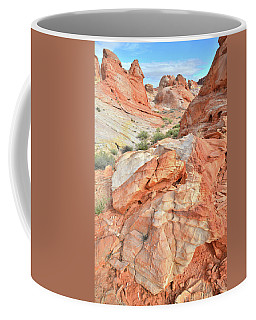 Canyon Color In Valley Of Fire Coffee Mug