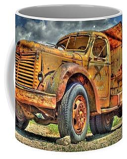 Dump Truck Photographs Coffee Mugs