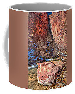 Coffee Mug featuring the photograph Canyon Corner by Christopher Holmes