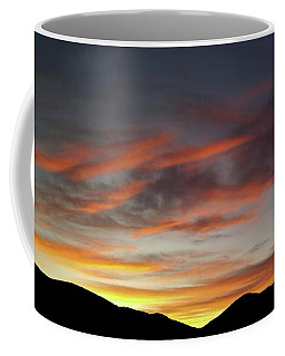 Canyon Hills Sunrise Coffee Mug