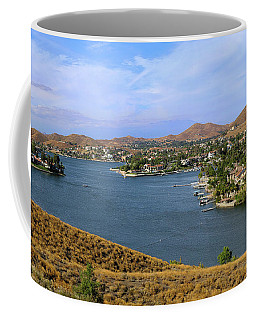 Canyon Lake Panorama Coffee Mug