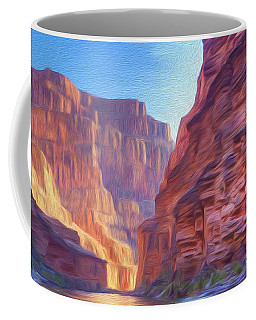 Canyon Light Coffee Mug by Walter Colvin