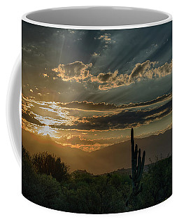 Coffee Mug featuring the photograph Canyon Ranch Dawn by Dan McManus