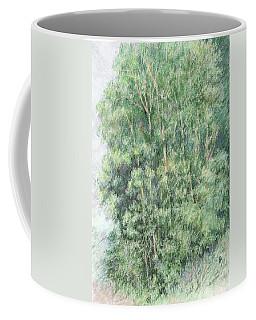 Canyon Trees Colorized Coffee Mug