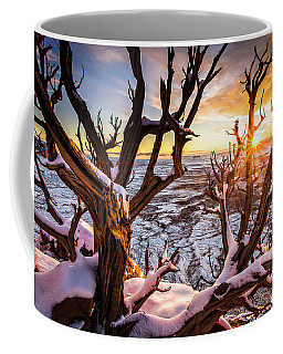 Canyonlands Winter Sunset Coffee Mug