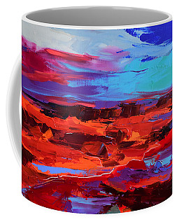 Canyon At Dusk - Art By Elise Palmigiani Coffee Mug