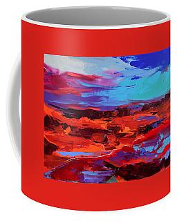 Canyon At Dusk - Art By Elise Palmigiani Coffee Mug by Elise Palmigiani
