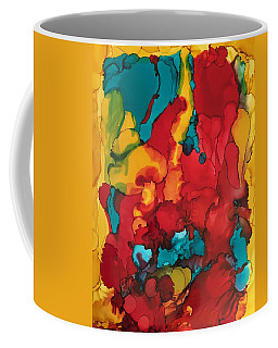 Canyons Of Color Coffee Mug