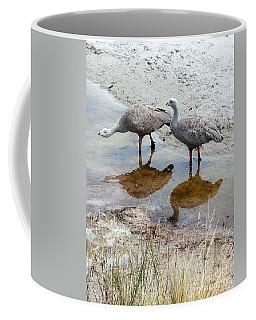 Cape Baron Geese On Maria Island 2 Coffee Mug by Lexa Harpell