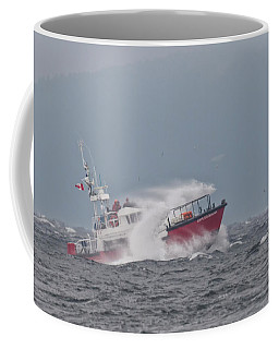 Coffee Mug featuring the photograph Cape Cockburn by Randy Hall