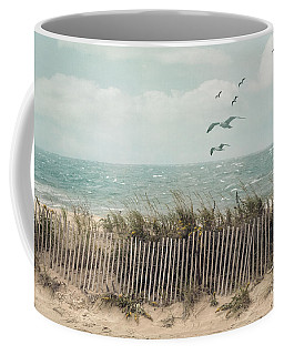 Cape Cod Beach Scene Coffee Mug