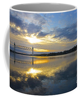 Cape Cod Canal Sunrise Coffee Mug by Amazing Jules