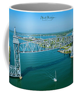 Cape Cod Canal Suspension Bridge Coffee Mug