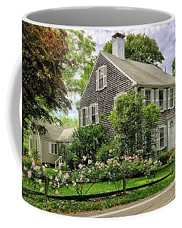 Cape Cod Floral Coffee Mug