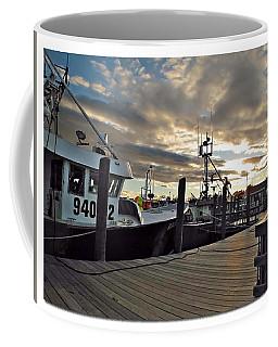 Coffee Mug featuring the photograph Cape Cod Harbor by Joan  Minchak