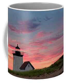 Coffee Mug featuring the photograph Cape Cod Long Point Light by Bill Wakeley