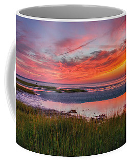 Cape Cod Skaket Beach Sunset Coffee Mug