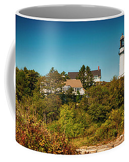 Cape Elizabeth Lighthouse Coffee Mug