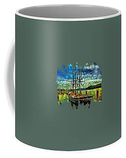 Coffee Mug featuring the photograph Cape Foulweather Tall Ship by Thom Zehrfeld