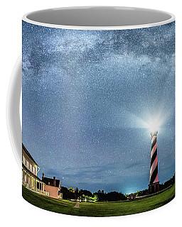 Cape Hatteras Light House Milky Way Panoramic Coffee Mug