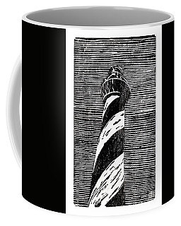 Coffee Mug featuring the painting Cape Hatteras Lighthouse II by Ryan Fox