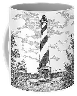 Cape Hatteras Lighthouse Coffee Mug by Lawrence Tripoli