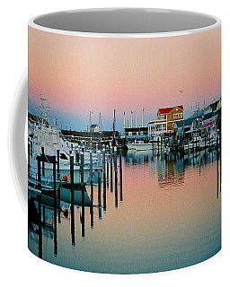 Coffee Mug featuring the photograph Cape May After Glow by Steve Karol