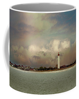 Coffee Mug featuring the photograph Cape May Lighthouse II by John Rivera