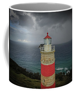 Coffee Mug featuring the photograph Cape Moreton Light by Keiran Lusk