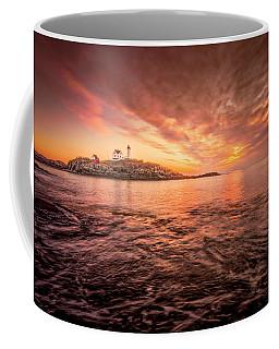 Cape Neddick Light - At Dawn Coffee Mug