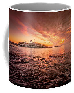 Cape Neddick Light - At Dawn Coffee Mug