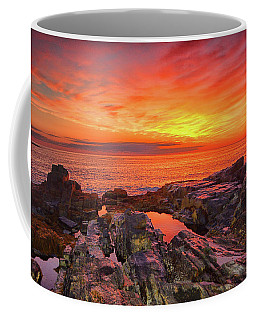 Cape Neddick Sunrise Coffee Mug