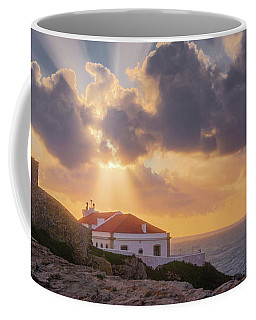 Coffee Mug featuring the photograph Cape St Vincent by Dmytro Korol