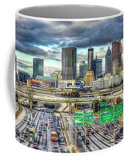 Capital Of The South Atlanta Skyline Cityscape Art Coffee Mug