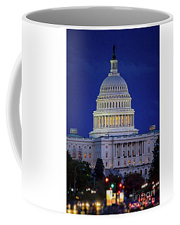 Capitol At Dusk Coffee Mug