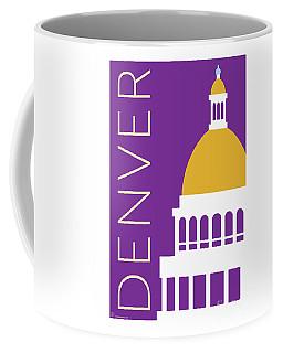 Denver Capitol/purple Coffee Mug