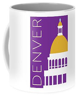 Denver Capitol/purple Coffee Mug