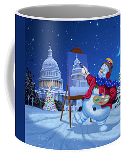 Capitol Snoman Coffee Mug