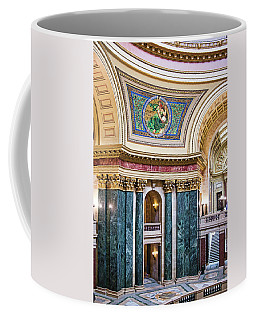 Capitol Rotunda -madison - Wisconsin Coffee Mug