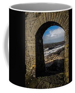 Cappagh Pier And Ireland's Shannon Estuary Coffee Mug